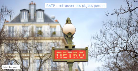 Comment retrouver ses objets perdus à la RATP ?