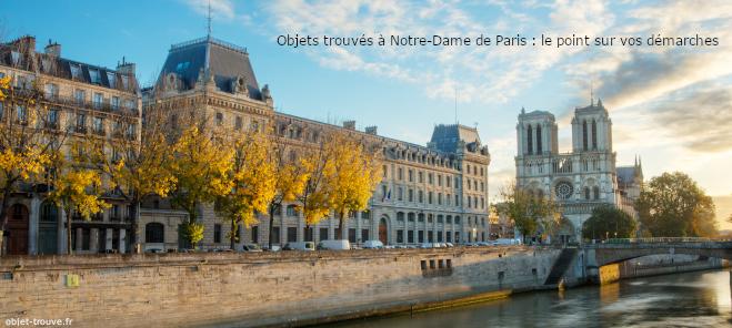 Notre-Dame de Paris : objets trouvés