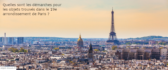 Objets trouvés Paris 19e