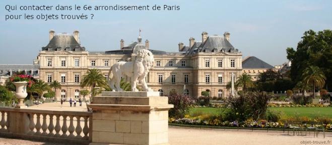 Objet Trouve Paris6