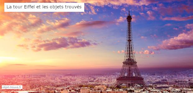La tour Eiffel et les objets trouvés