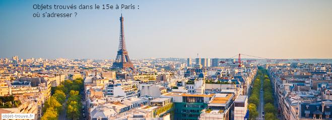 Objets trouvés Paris 15e : où s'adresser ?