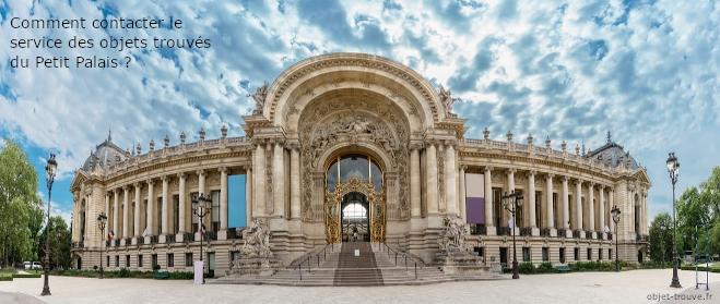 Petit Palais : service des objets trouvés