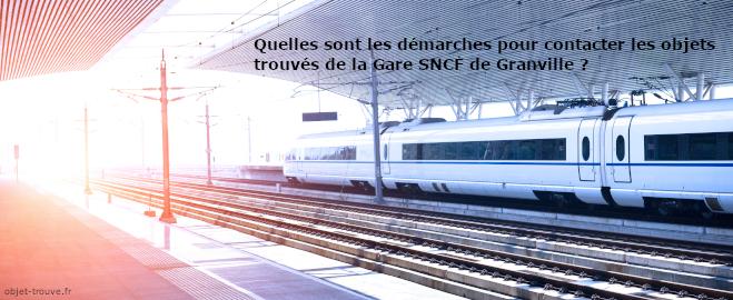 Les objets trouvés de la Gare SNCF de Granville