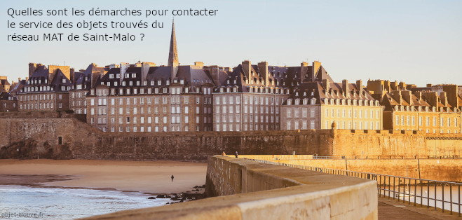 Vos démarches pour le services des objets trouvés des transports de Saint-Malo