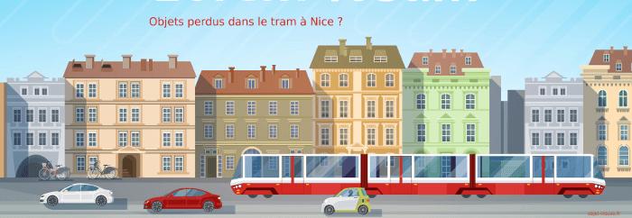 Vous avez perdu quelque chose dans le tram à Nice ?