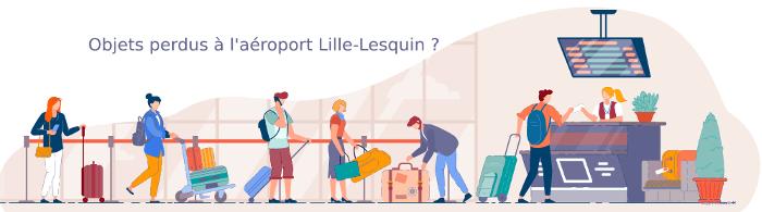 Vous avez perdu quelque chose à l'aéroport de Lille Lesquin ?