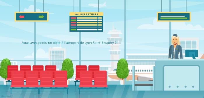 Vous avez perdu quelque chose à l'aéroport de Lyon Saint Exupéry ?