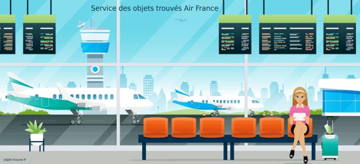 Comment contacter le service des objets trouvés Air France ?