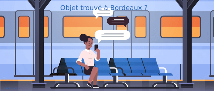 Objets trouvés Bordeaux SNCF