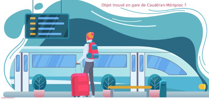 Objets trouvés en gare de Caudéran-Mérignac ?