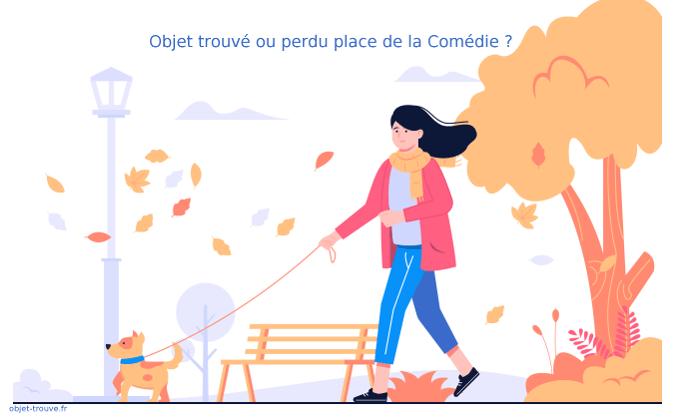 Vous avez perdu quelque chose place de la Comédie à Montpellier ?