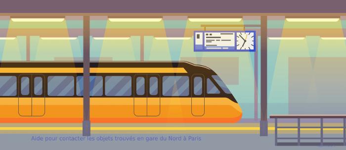 Comment contacter les objets trouvés de la gare Paris-Nord ?