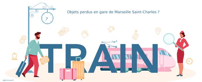 Vous avez perdu quelque chose en gare de Marseille Saint-Charles ?