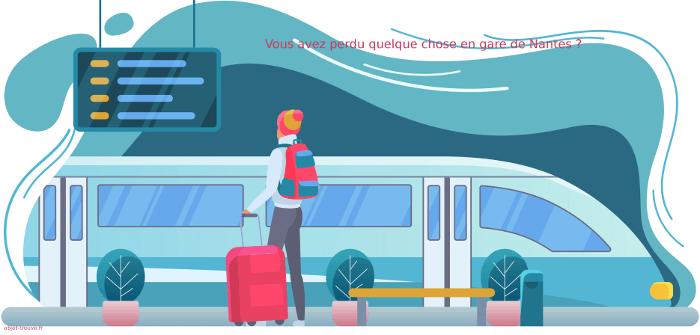 Objets trouvés en gare de Nantes ?
