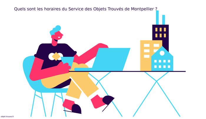Vous voulez connaitre les horaires du service des objets trouvés de Montpellier ?