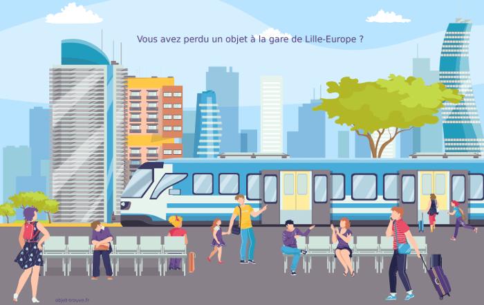 Vous avez perdu un objet en gare de Lille Europe ?
