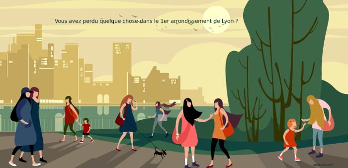 Objets trouvés ou perdus dans le 1er arrondissement de Lyon ?