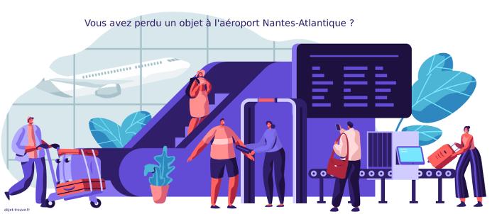 Objets perdus à l'aéroport de Nantes ?