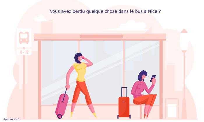 Objets perdus dans le bus à Nice ?