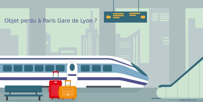 Vous avez perdu quelque chose en gare de Lyon à Paris ?