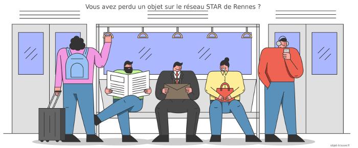 Vous avez perdu un objet sur le réseau STAR de Rennes ?