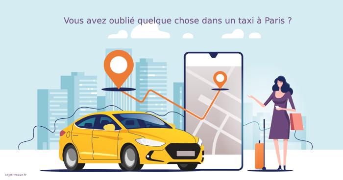 Vous avez perdu un objet dans un taxi à Paris ?