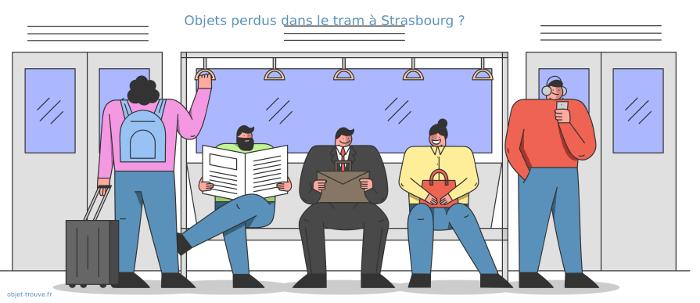 Vous avez perdu un objet dans le tram de Strasbourg ?