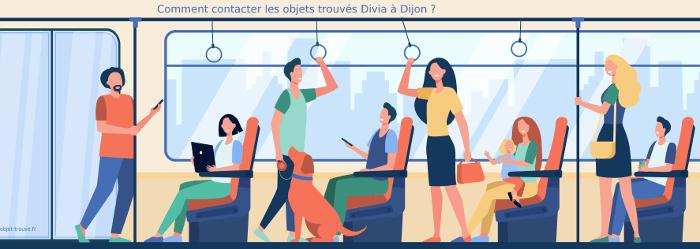 Comment contacter les objets trouvés Divia à Dijon ?