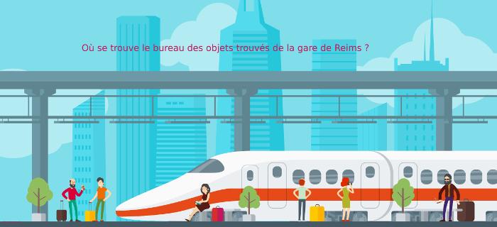 Vous avez perdu un objet en gare de Reims ?