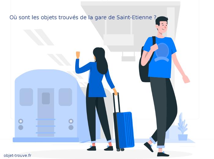 Comment joindre le bureau des objets trouvés de la gare de Saint-Etienne ?