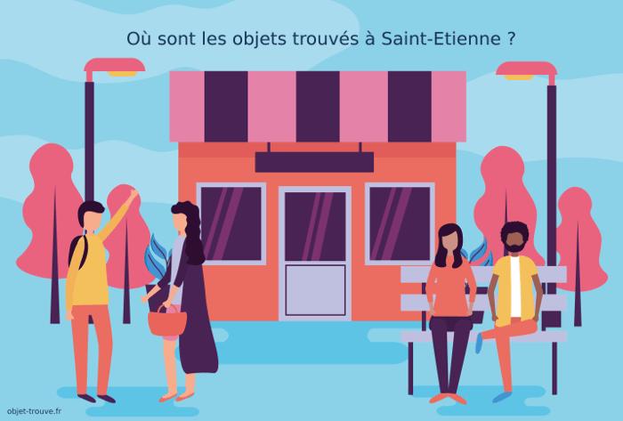Comment joindre le service des objets trouvés de Saint-Etienne ?