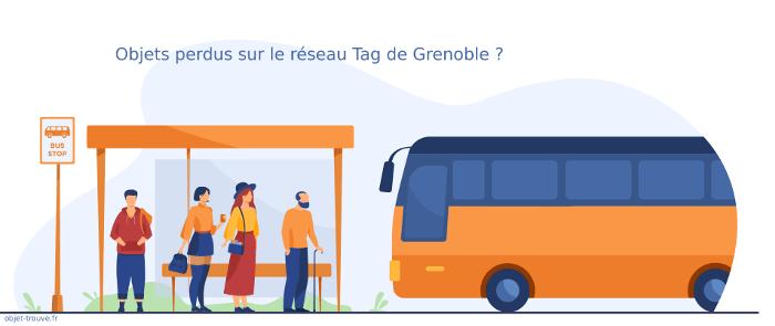 Vous avez perdu un objet sur le réseau Tag de Grenoble ?