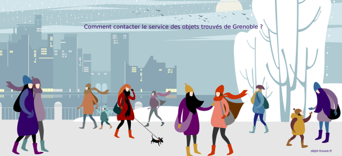 Comment contacter le service des objets trouvés de la ville de Grenoble ?