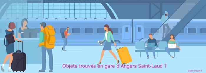 Vous avez perdu un objet en gare d'Angers Saint-Laud ?